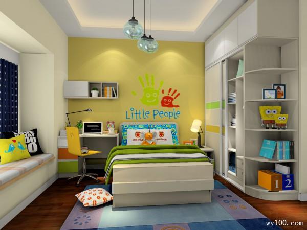 创造更多想象空间 20�O童趣儿童房_维意定制家具商城