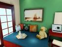 小户型中式书房 7�O新古典主义风格_维意定制家具商城