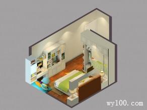 田园卧室效果图 做一个美美的梦_维意定制家具商城