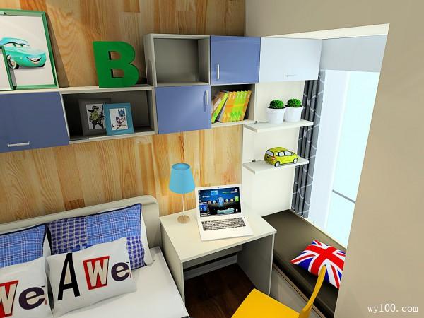 小户型儿童房效果图  开启卧室里的扩容大计_维意定制家具商城