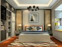 简约卧室效果图 一房多用14�O多功能时尚卧室_维意定制家具商城