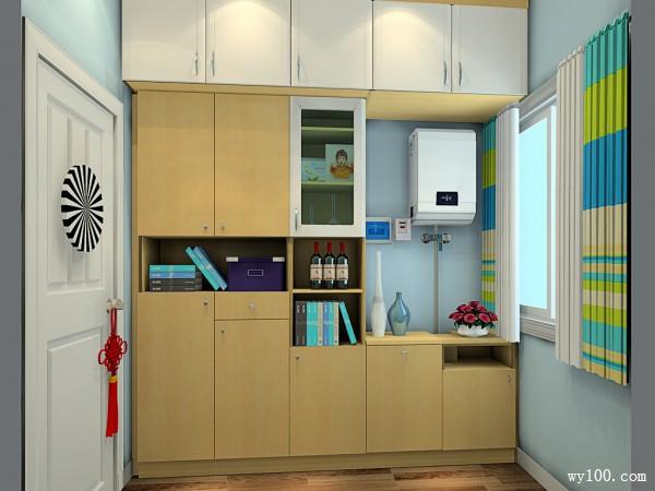简约玄关效果图 用收纳柜实现玄关增容计_维意定制家具商城
