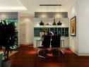 后现代风格客餐厅效果图_维意定制家具商城