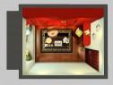 中国风书房效果图 9�O浓厚高品质_维意定制家具商城