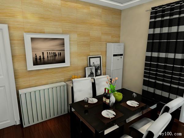 现代客餐厅效果图 42�O精英男现代风尚_维意定制家具商城