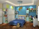 趣味儿童房效果图 14�O睡眠与学习共存空间_维意定制家具商城