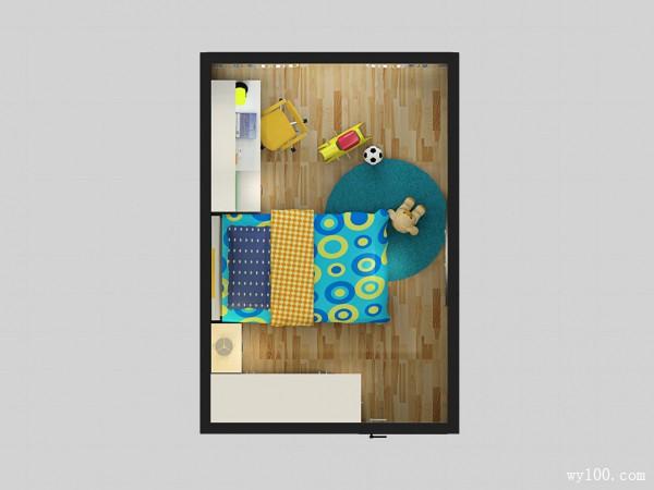 酷炫儿童房效果图 12�O家有男孩看过来_维意定制家具商城