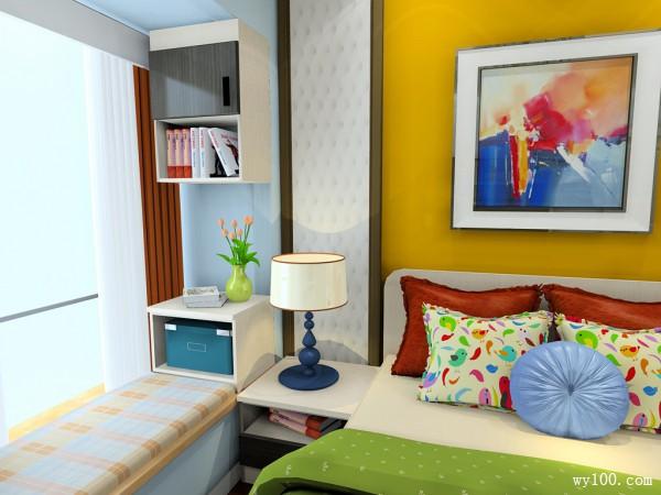简约卧室效果图 10�O小面积里的精彩事_维意定制家具商城