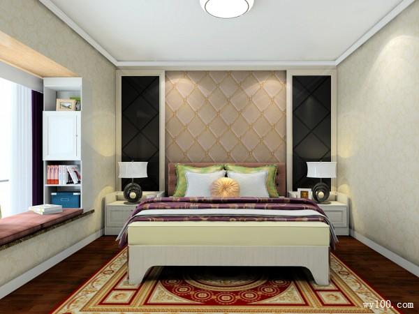美式卧室效果图 22�O灵活分割衣帽间_维意定制家具商城
