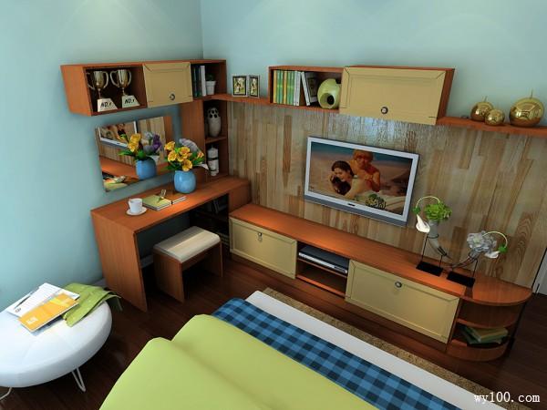 豪华卧室效果图 哪的试衣间都敌不上自家的衣橱_维意定制家具商城