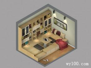 书房装修效果图 9�O整体高端大气_维意定制家具商城