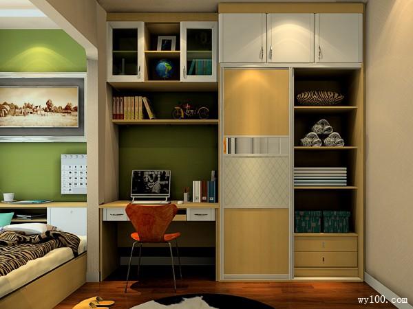 卧室装修效果图 10�O榻榻米增加储物功能_维意定制家具商城
