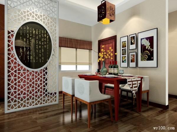 30�O古韵客餐厅 彰显古色古香的东方家居_维意定制家具商城