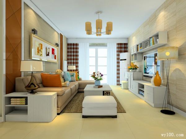 感受美式优雅氛围 38�O田园温馨客餐厅_维意定制家具商城