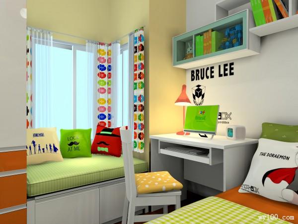 7�O多彩儿童房 装点上孩子最爱的蓝胖子_维意定制家具商城