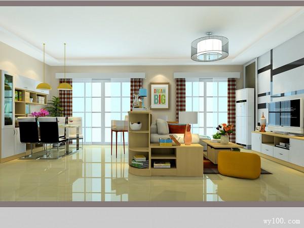 34�O简约客餐厅 文艺范最钟意小清新设计_维意定制家具商城