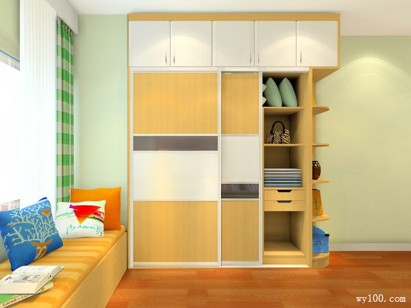 卧室装修效果图 84�O暖暖的温馨感_维意定制家具商城