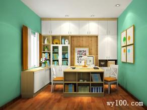 小户型办公书房 7�O上班族最爱_维意定制家具商城