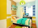 实用儿童房设计 8�O飘窗学习天地_维意定制家具商城