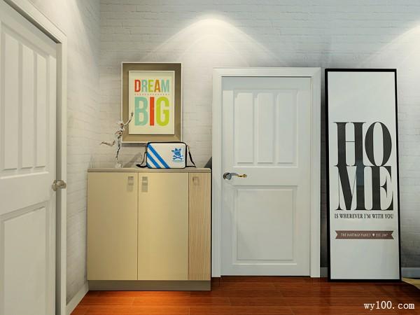 时尚客厅影视墙 30�O展现居家沉稳魅力_维意定制家具商城
