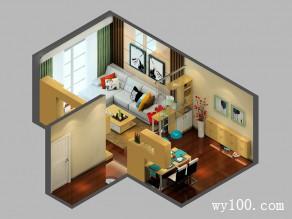 时尚客餐厅效果图 24�O诠释现代家居新品味_维意定制家具商城