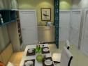 小清新客餐厅效果图 19�O打造绿色自然世界_维意定制家具商城