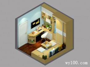 小户型卧室效果图 8�O必看的空间复活术_维意定制家具商城