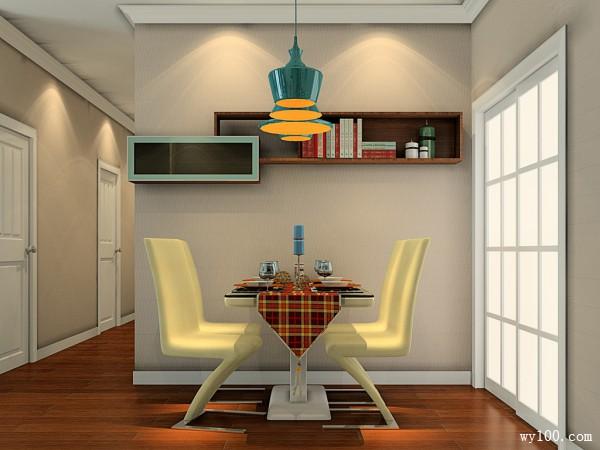 轻古典客餐厅 自在舒适源自高贵的美_维意定制家具商城