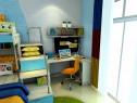 超强收纳儿童房 14�O打造上下床快乐_维意定制家具商城