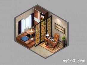 榻榻米书房效果图 12�O享受不一样的韵味_维意定制家具商城