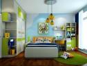 舒适清新儿童房 13�O给萌宝贝的一丝清凉_维意定制家具商城