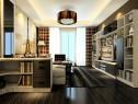 时尚客餐厅效果图 32�O演绎经典黑白时尚_维意定制家具商城
