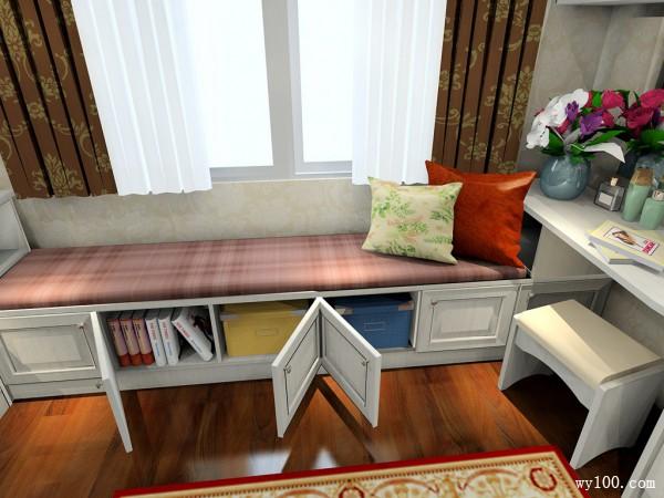 美式衣帽间卧室 21�O舒适优雅个性化_维意定制家具商城