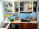 时尚简约厨房效果图 做个利落巧煮妇_维意定制家具商城