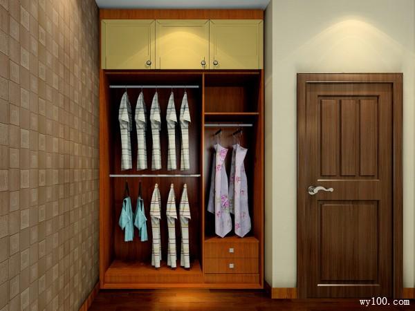 经典卧室效果图 13�O打造暖冬里的温柔乡_维意定制家具商城