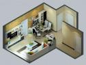 客厅电视柜效果图 38�O黑白灵动美的舒适客餐厅_维意定制家具商城