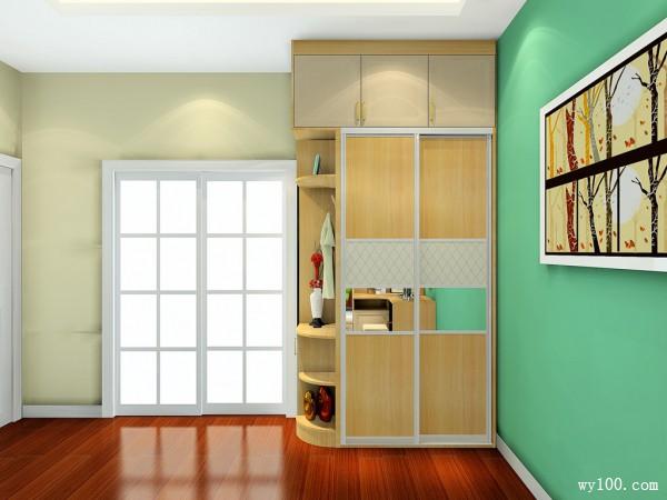 田园式飘窗卧室 12�O帮你摆脱枯燥生活_维意定制家具商城