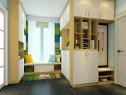 飘窗客餐厅效果图 11�O整体空间设计_维意定制家具商城