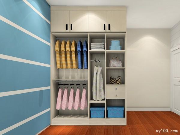 现代卧室效果图 16�O为空间增加多一份温馨_维意定制家具商城