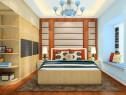 现代卧室效果图 14�O更显年轻人的浪漫_维意定制家具商城