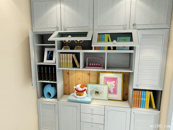 杂物房改造客卧设计效果图_维意定制家具商城