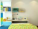 飘窗书桌儿童房效果图 9�O凸显童真趣味_维意定制家具商城