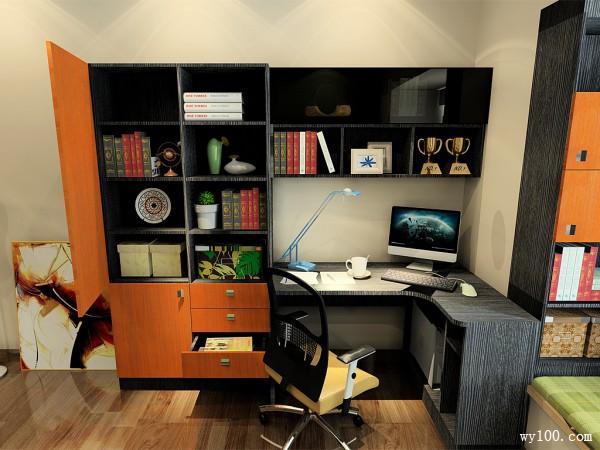 家装卧室设计效果图 13�O达到整体性和协调性_维意定制家具商城