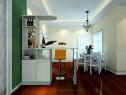 大户型餐厅客厅效果图 69�O搭配设计了吧台_维意定制家具商城