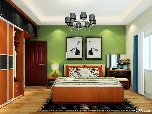 整体衣柜卧室效果图 16�O整个空间大气、自然_维意定制家具商城