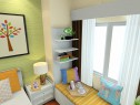 卧室飘窗装修效果图 10�O有效的利用飘窗的宽度_维意定制家具商城