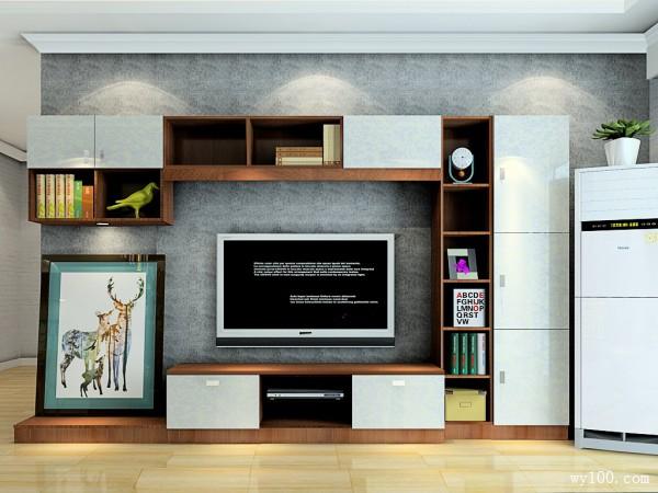 酒柜隔断客餐厅效果图 26�O风格时尚简约_维意定制家具商城