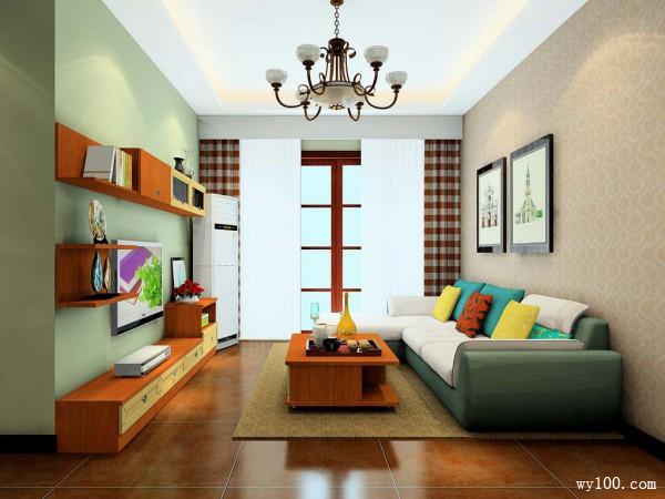阳光客餐厅效果图 25�O造型简洁、外观时尚_维意定制家具商城