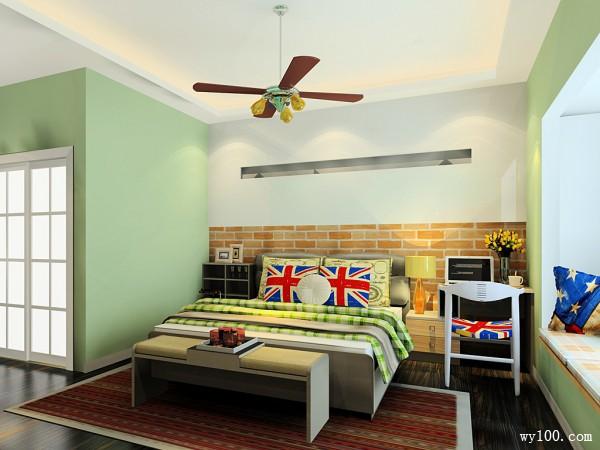 多功能床头柜卧室装修效果图_维意定制家具商城
