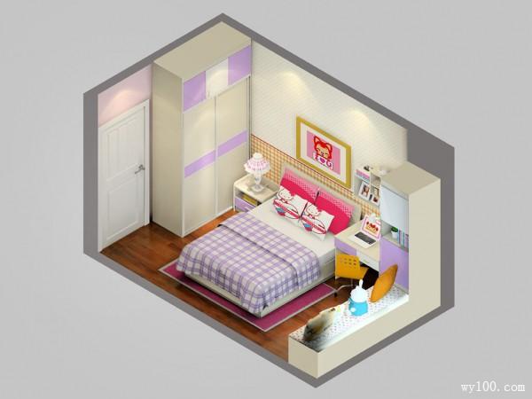 榻榻米儿童房装修效果图 11�O不知道飘窗怎么装?_维意定制家具商城